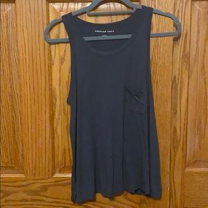 American Eagle Grey Tank. Size small. Worn once